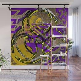 monstrous mental fear Wall Mural