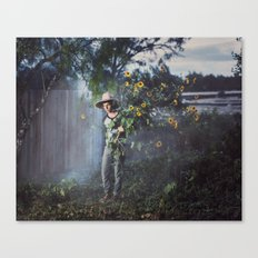 The Worker  Canvas Print