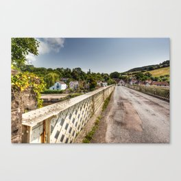 Brockweir Village Canvas Print