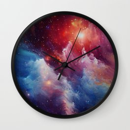 Misterious Space Wall Clock