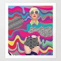Lava Girl by zero7iete
