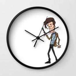11th Doctor Wall Clock