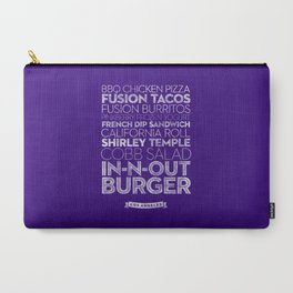 Los Angeles — Delicious City Prints Carry-All Pouch