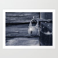 Locked Art Print