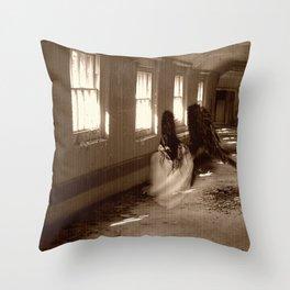 Asylum Angel Throw Pillow