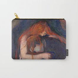 Vampire by Edvard Munch (1895) Carry-All Pouch