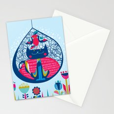 HUNGRY CAT & LITTLE BIRDIE Stationery Cards