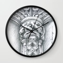 stone art Wall Clock