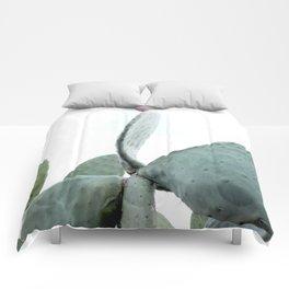 Mint Green Cactus Comforters
