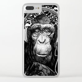 Hear no Evil Clear iPhone Case