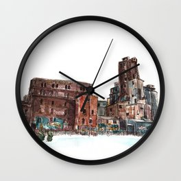 Canadian Malting Factory Wall Clock