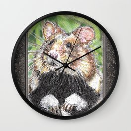 Did Someone Say Nuts Wall Clock