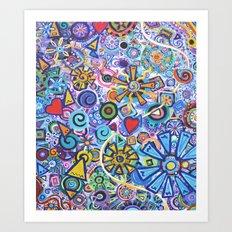Joyous Art Print