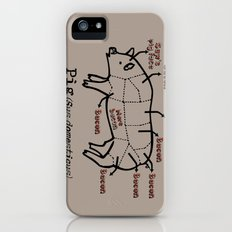 Bacon LOver Slim Case iPhone (5, 5s)