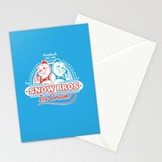 Snow Bros Ice Cream Stationery Cards