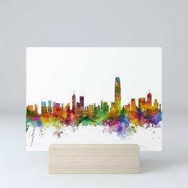 Hong Kong Skyline Mini Art Print