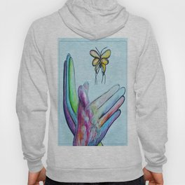 American Sign Language BUTTERFLY Hoody
