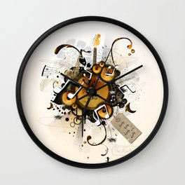 The Music Machine Wall Clock
