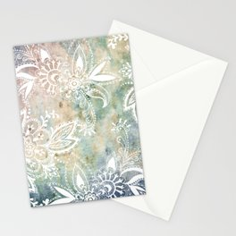 Paisley Earth Stationery Cards