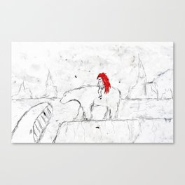 Welcome to Icenod Canvas Print