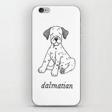 Dog Breeds: Dalmation iPhone & iPod Skin