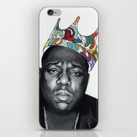 notorious big iPhone & iPod Skins featuring Notorious by Jared Yamahata