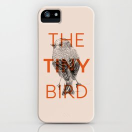 THE TINY BIRD iPhone Case