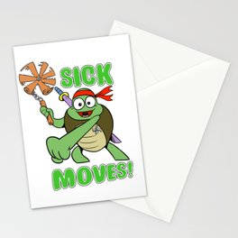 Sick Moves! Stationery Cards