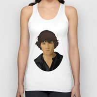 sam winchester Tank Tops featuring Sam Winchester by siddick49