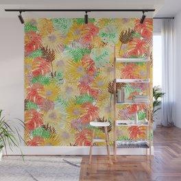 Tropical Leaves #02 Wall Mural