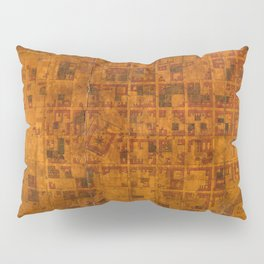 Map Of Montevideo 1807 Pillow Sham
