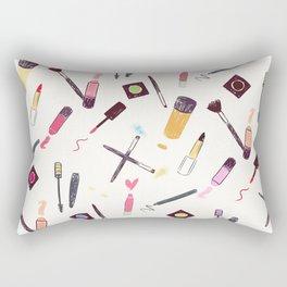 Lets Make up Vibrant Rectangular Pillow