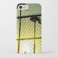 santa monica iPhone & iPod Cases featuring Santa Monica by Nicole Stamsek