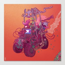 Vroom#1 Canvas Print
