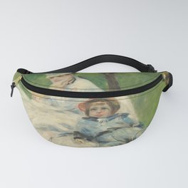 Auguste Renoir - Madame Monet and Her Son.jpg Fanny Pack