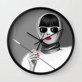 Lady elegance Wall Clock