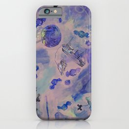 Blissed Out iPhone Case