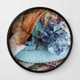 Garden Dreams Wall Clock