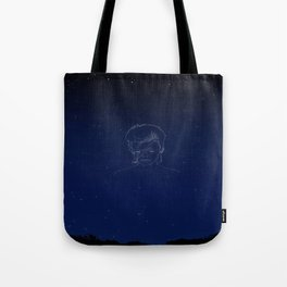 """Look up here, I'm in heaven"" Tote Bag"