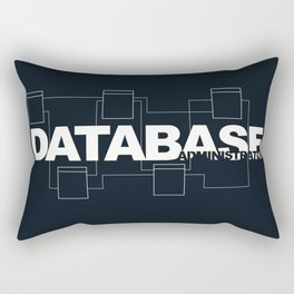 Database Administrator Rectangular Pillow