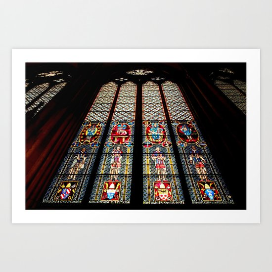 Cathedral Window Art Print