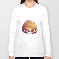 dinosaur Long Sleeve T-shirts featuring DINOSAUR by rafael mayani