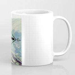 Mountians and Print Coffee Mug