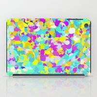 confetti iPad Cases featuring Confetti  by Maggie Dylan