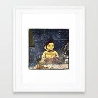 palestine Framed Art Prints featuring PALESTINE by Martin Llado