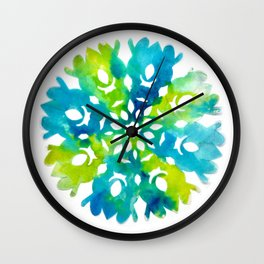 colourful circles  Wall Clock