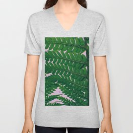 Fern Fronds Unisex V-Neck