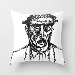 Fwankenstime's Monster Throw Pillow