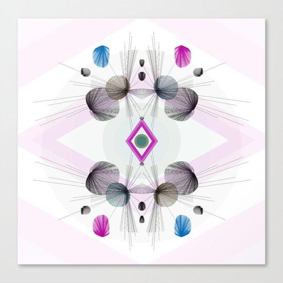 Geometric Burst Canvas Print