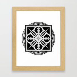 Viking Inspired Framed Art Print